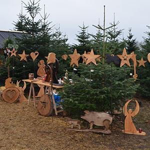 Aussteller - Weihnachtsmarkt mit Baumschlagen